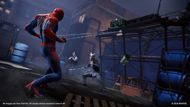 PS4 - Marvel Spider-Man (M)