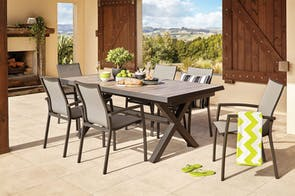 Parsons 9 Piece Outdoor Dining Setting