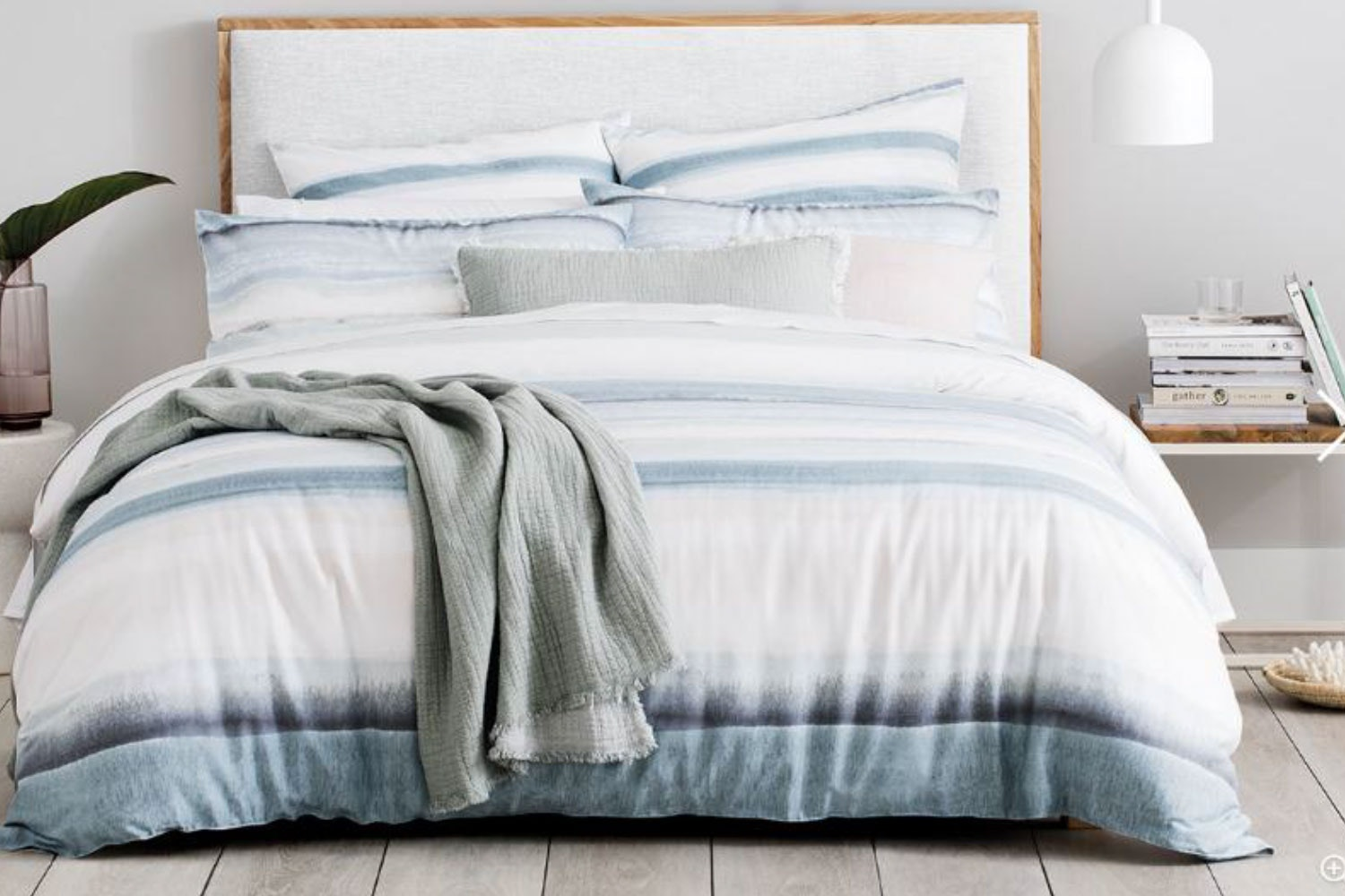 Rockpool Chambray  Duvet Cover Set by Sheridan