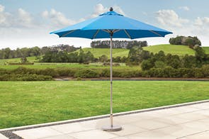 Triton 2.7m Outdoor Umbrella - Blue - Peros