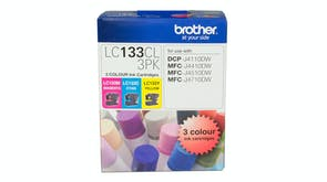 Brother LC133CL3PK Colour Ink Cartridge - 3 Pack