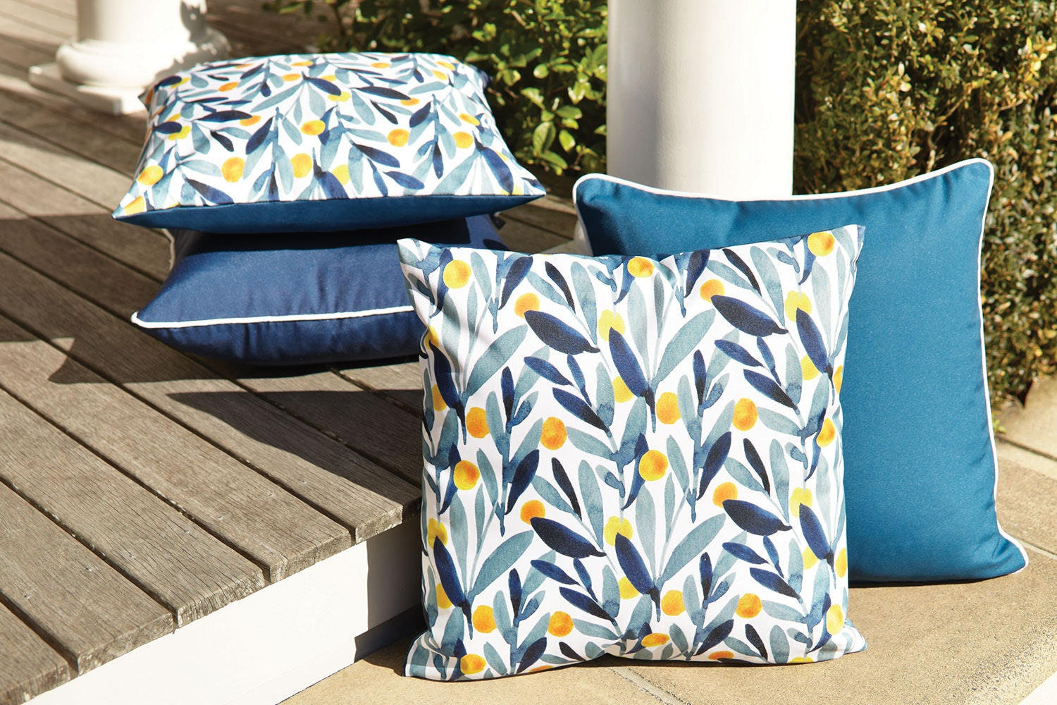 Amalfi Outdoor Cushion by Rapee