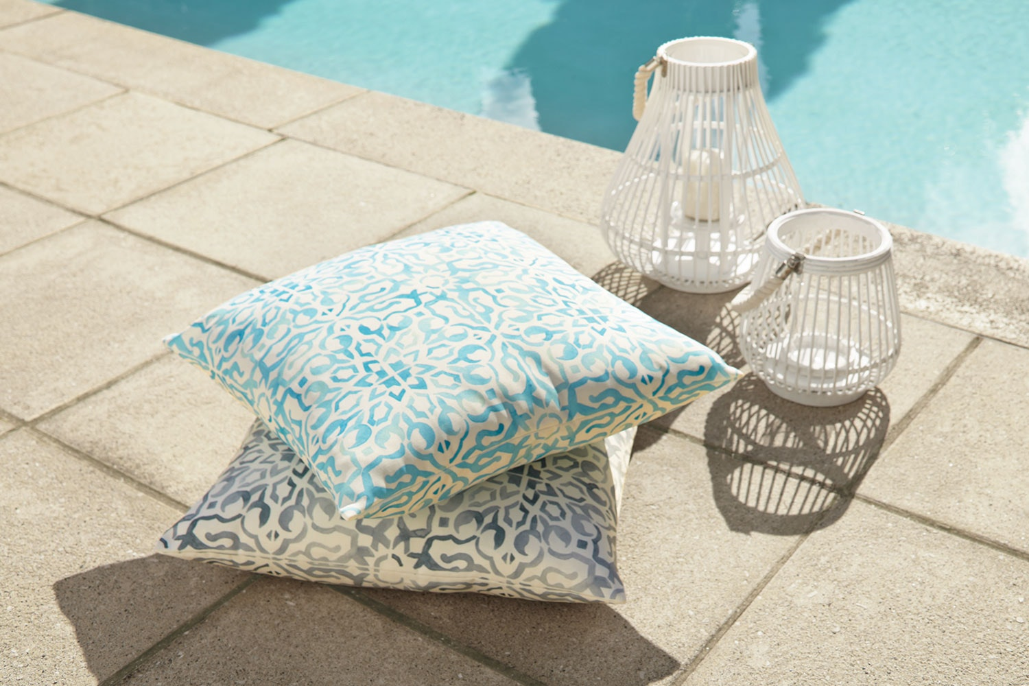 Calliope Outdoor Cushion by Rapee