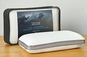 Celsius Mid Profile Gel Infused Memory Foam Pillow by Beautyrest