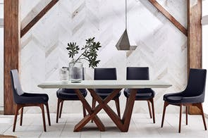 Moderna 7 Piece Dining Suite by Insato Furniture