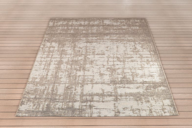 Domani Barop Beige Outdoor Rug by Signature Rugs