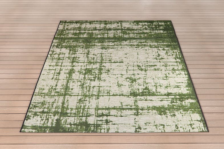 Domani Barop Green Outdoor Rug by Signature Rugs