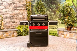Gas2Coal 3 Burner Barbeque by CharBroil