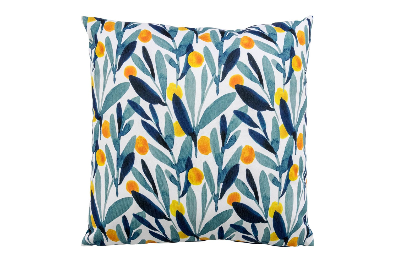 Leaf Print Outdoor Cushion by Kerridge