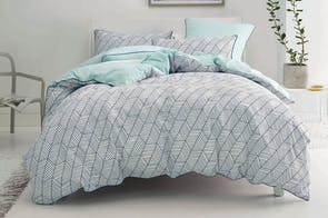 Loft Navy Duvet Cover Set by Nu Edition