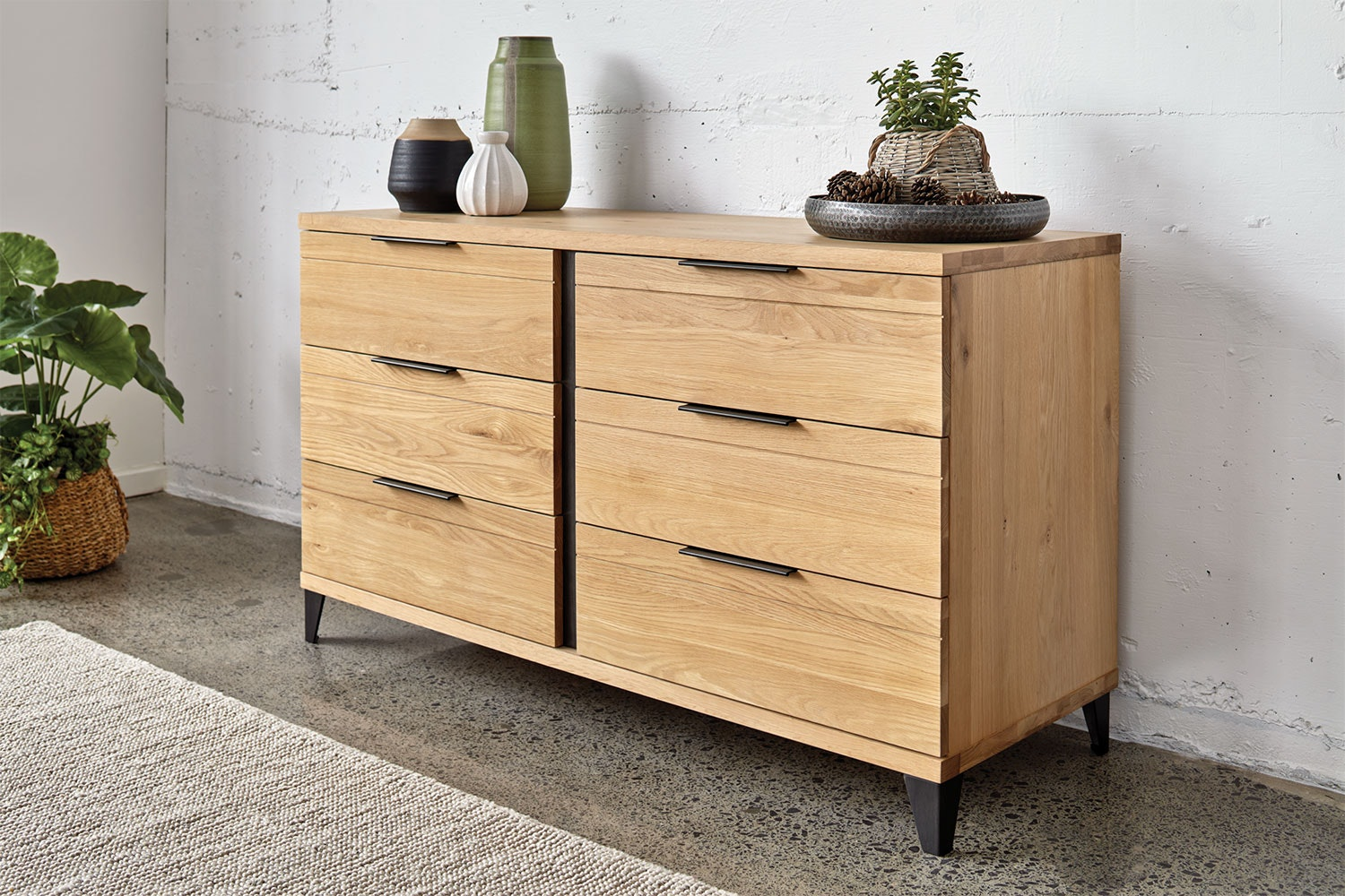 Manhattan Lowboy by Morgan Furniture