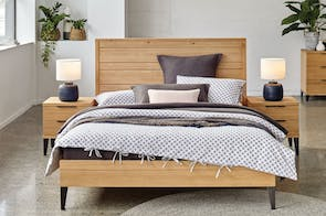 Manhattan Queen Bed Frame by Morgan Furniture
