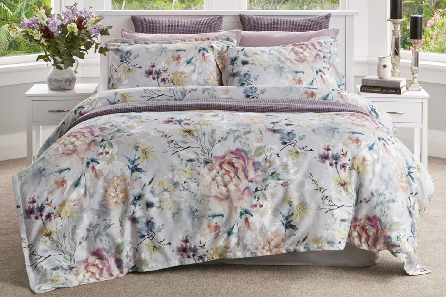 Monet Duvet Cover Set by Baksana