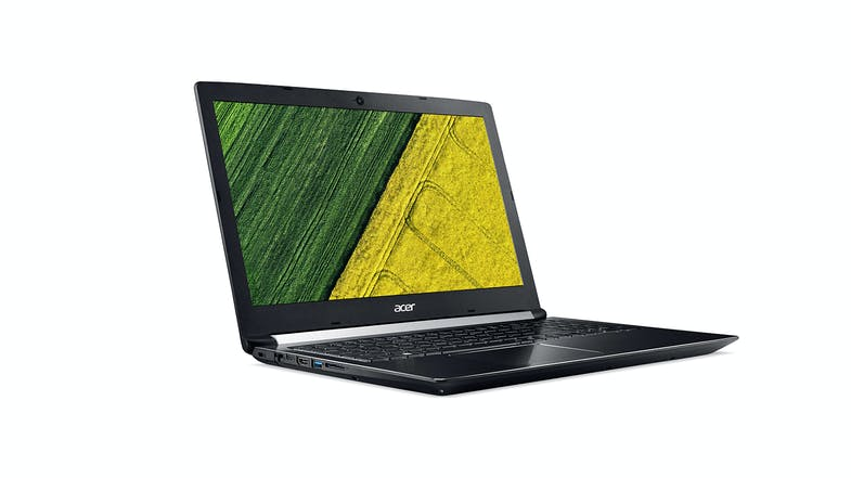 "Acer Aspire 7 - 17.3"" Laptop - Left"
