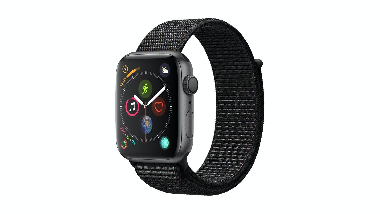 Apple Watch Series 4 Gps 44mm Space Grey Black Sport