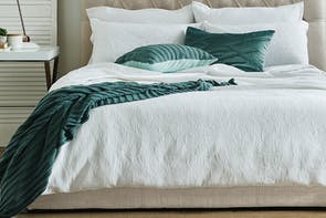 Antique Marcella Duvet Cover Set by L'Avenue