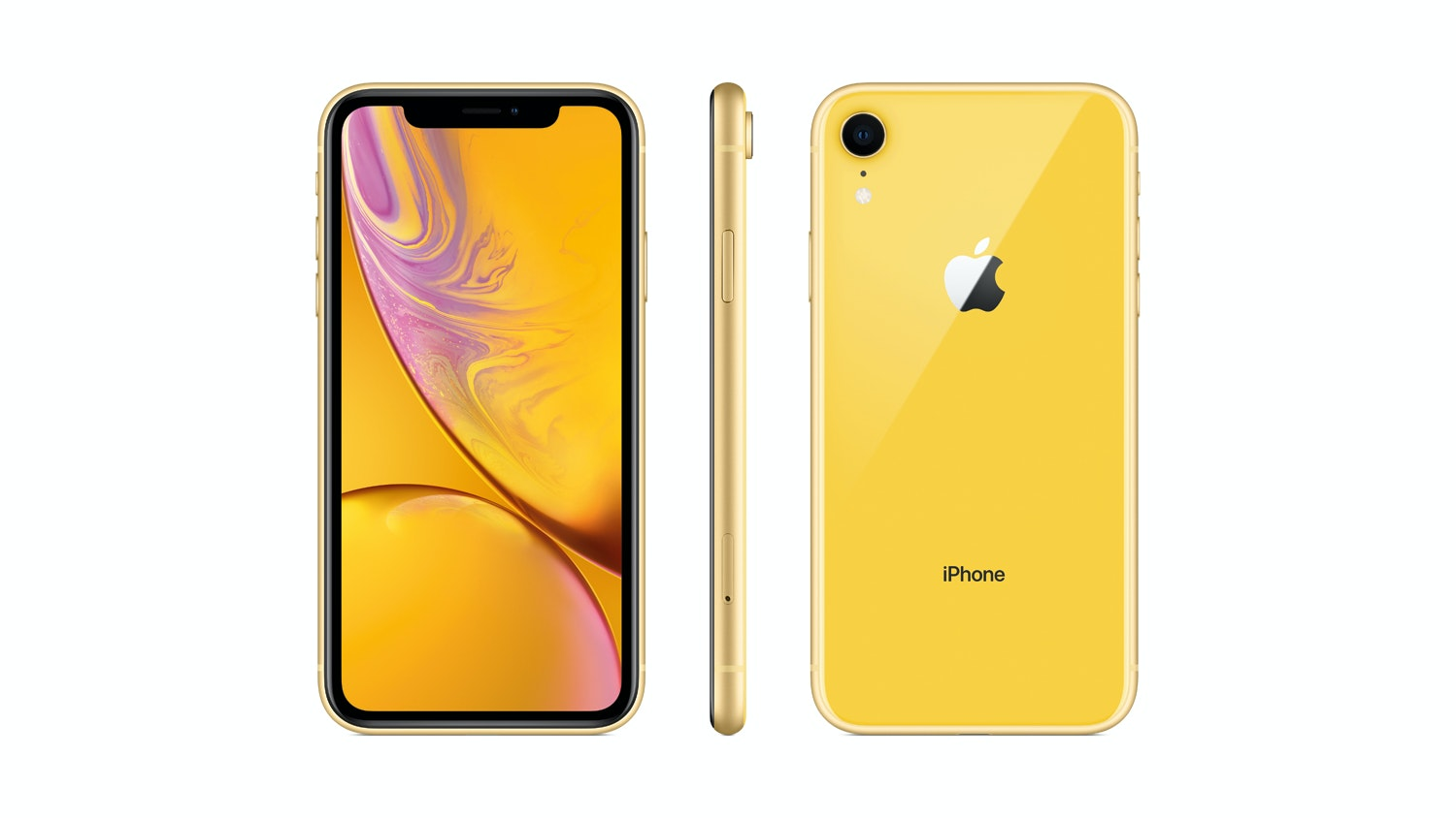 iPhone XR - Yellow