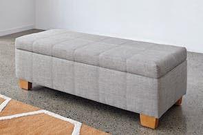 Alabama Ottoman by Nero Furniture