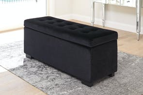 Bordeaux Ottoman by Nero Furniture