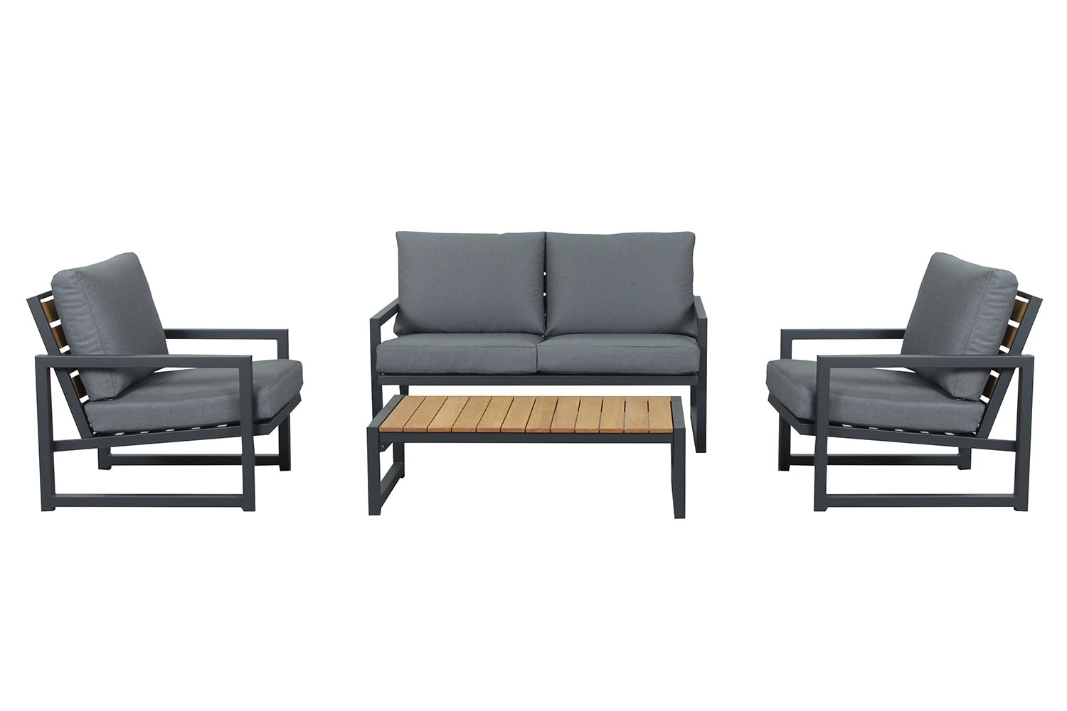 Catalina 4 Piece Outdoor Lounge Setting
