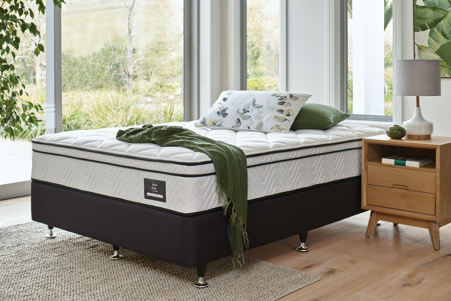 Viva Plush Long Single Bed By King Koil