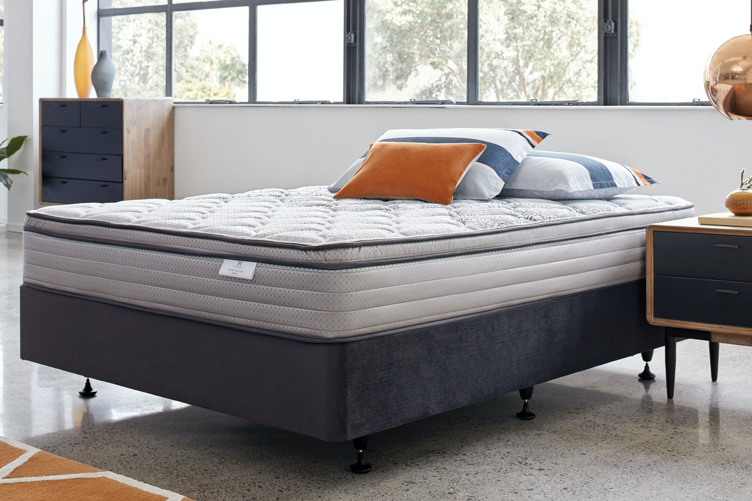 Worthington Medium SIngle Bed By Sealy PostureLux
