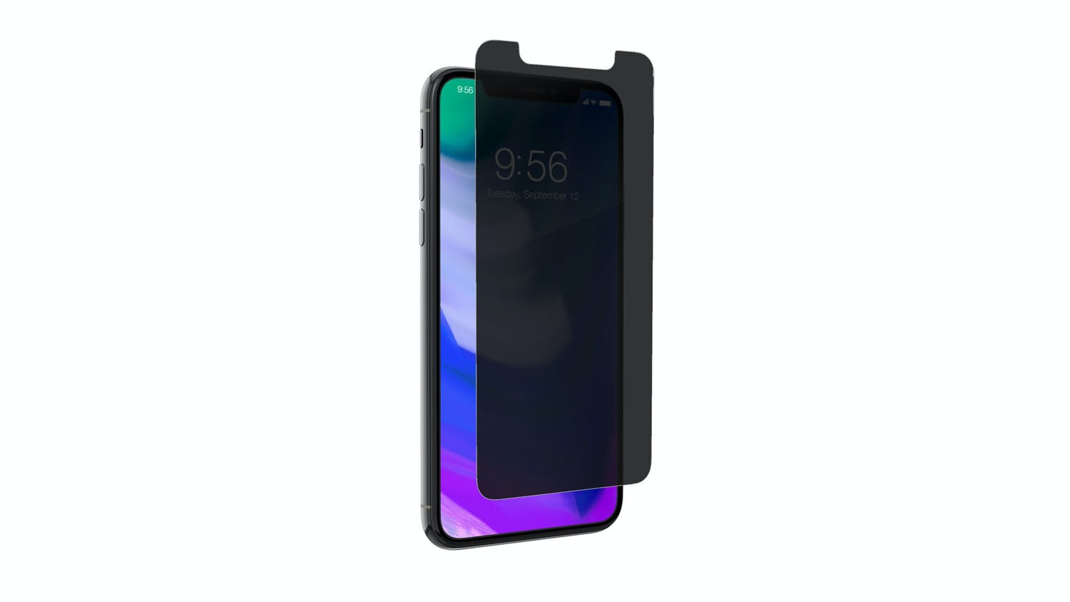 online store 85d32 0b836 Zagg InvisibleShield Glass+ Privacy Screen Protector for iPhone X