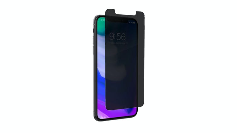 Zagg InvisibleShield  Glass Plus Privacy for iPhone X