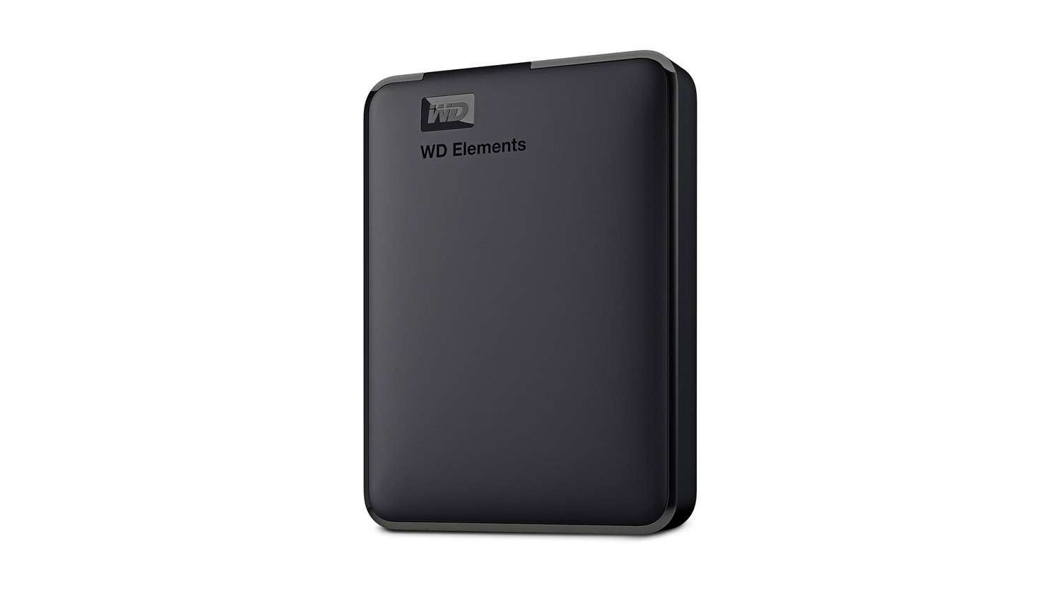 WD Elements USB 3.0 Portable Hard Drive - right angle