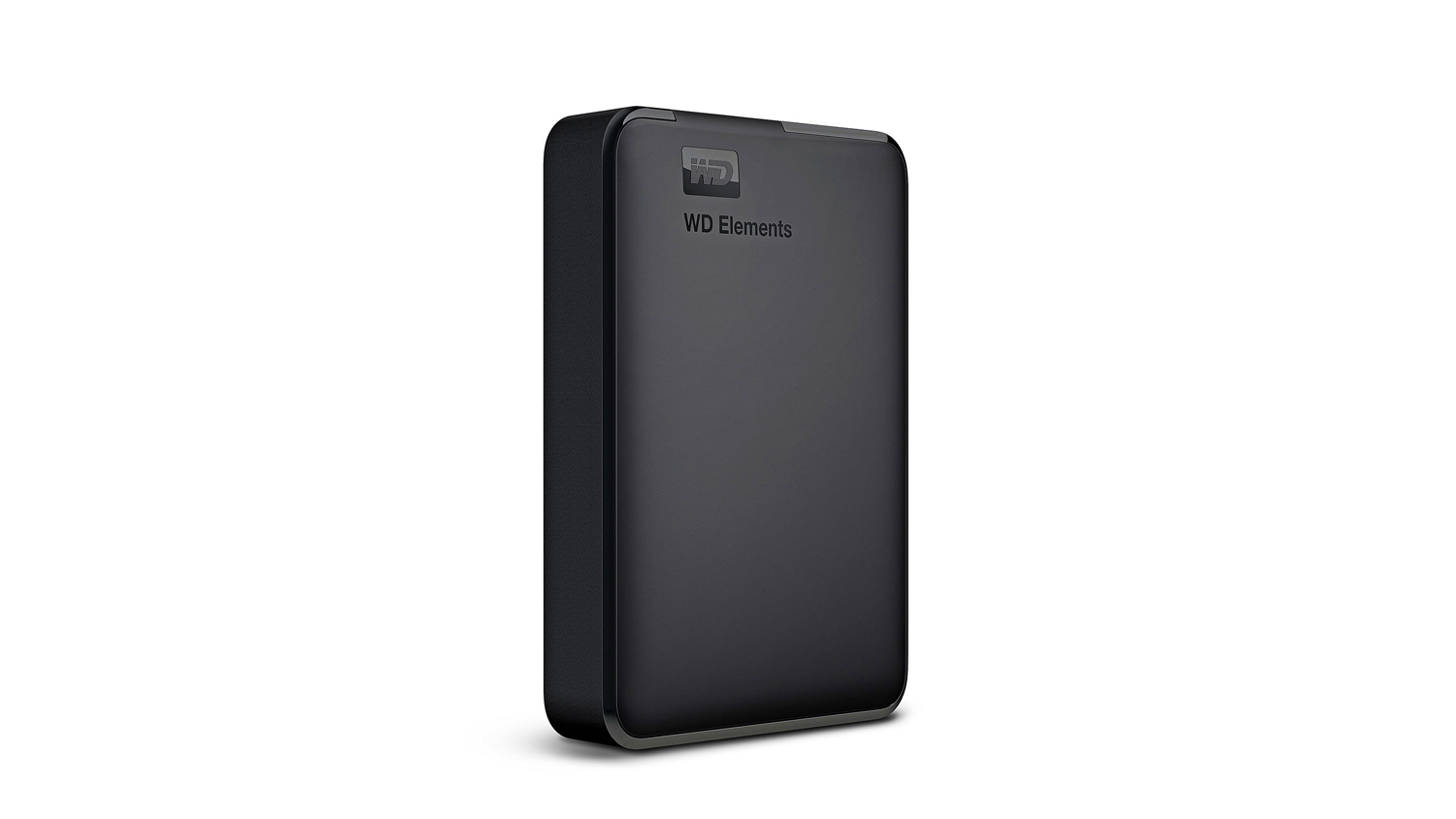 WD Elements USB 3.0 Portable Hard Drive - Left angle