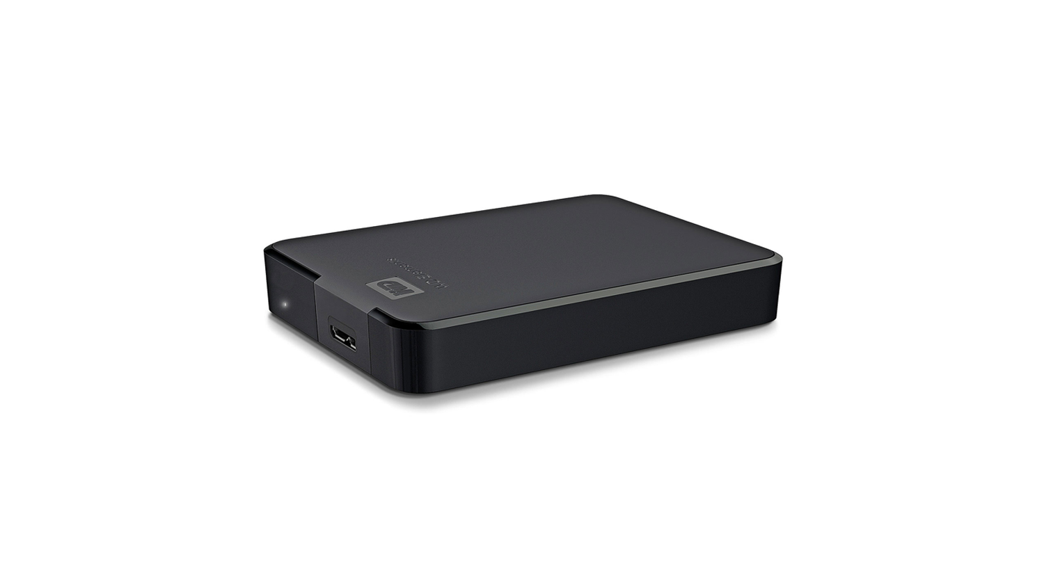 WD Elements USB 3.0 Portable Hard Drive - top side view
