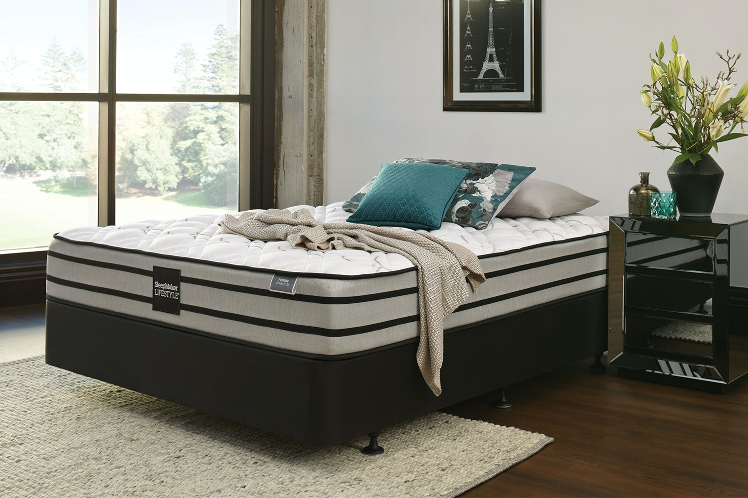 Posture Plus Queen Bed by SleepMaker