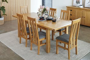 Versailles 7 Piece Extension Dining Suite