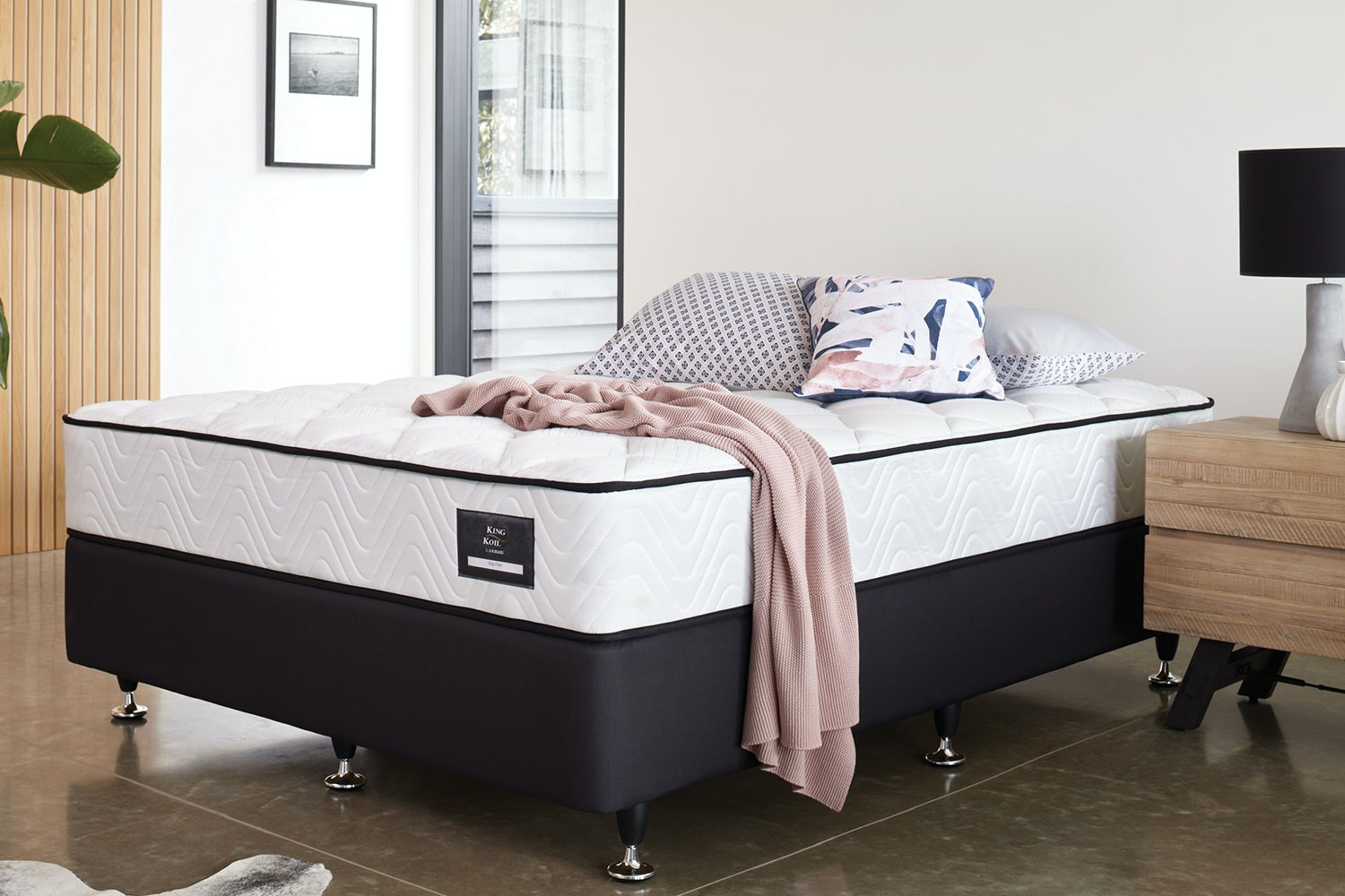 Viva Firm Super King Bed by King Koil