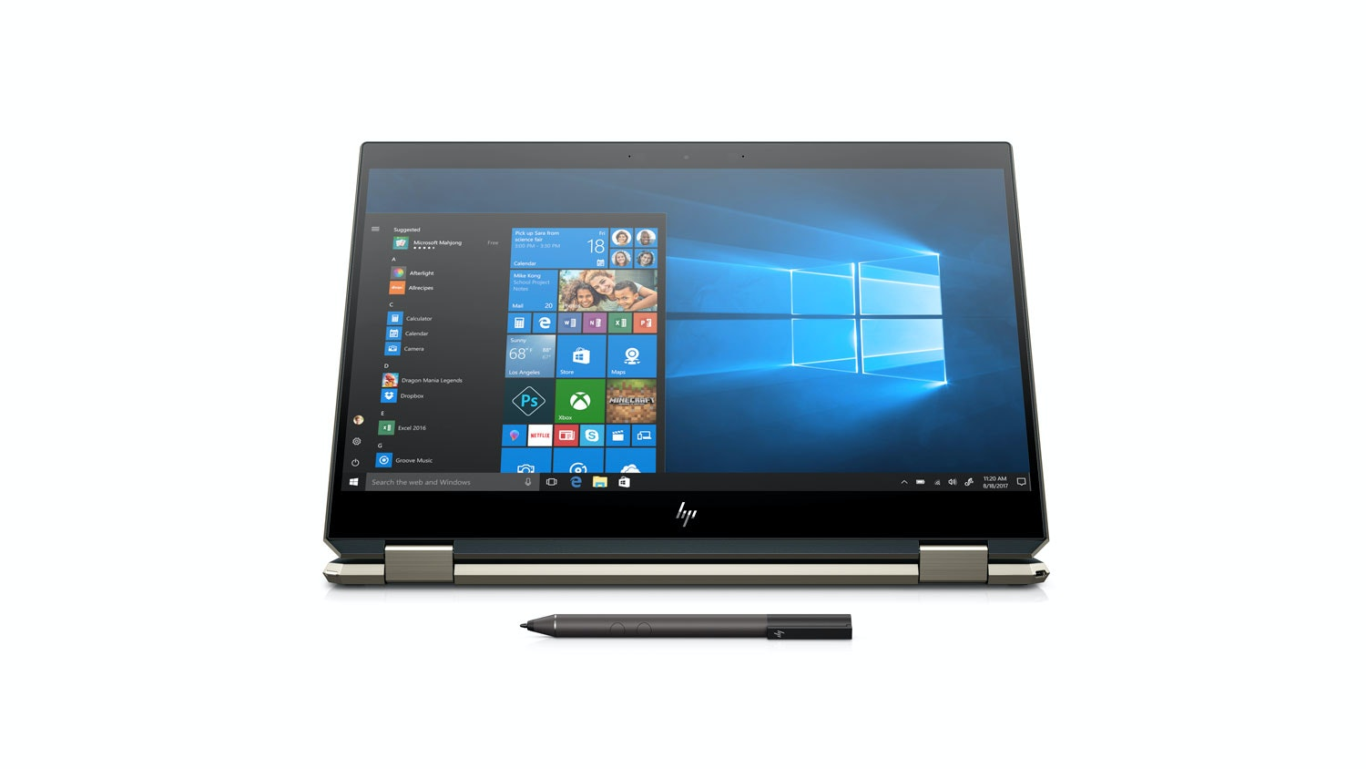 HP Spectre x360 15-DF0012TX 2-in-1 Laptop - Front