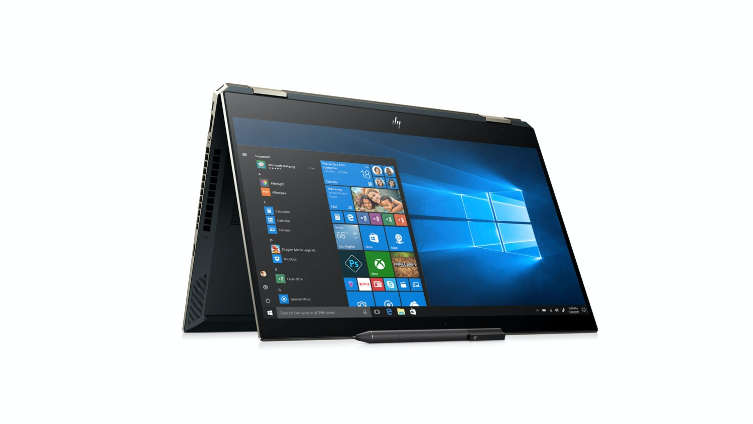 HP Spectre x360 15-DF0012TX 2-in-1 Laptop - Side