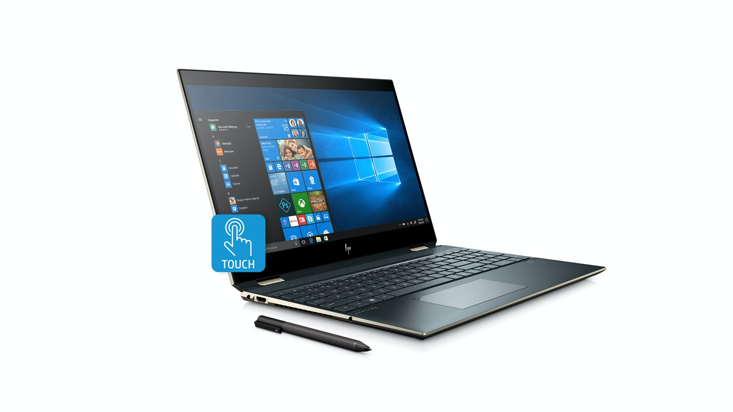 HP Spectre x360 15-DF0012TX 2-in-1 Laptop - Left