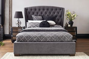 Allegra Queen Bed Frame by John Young Furniture