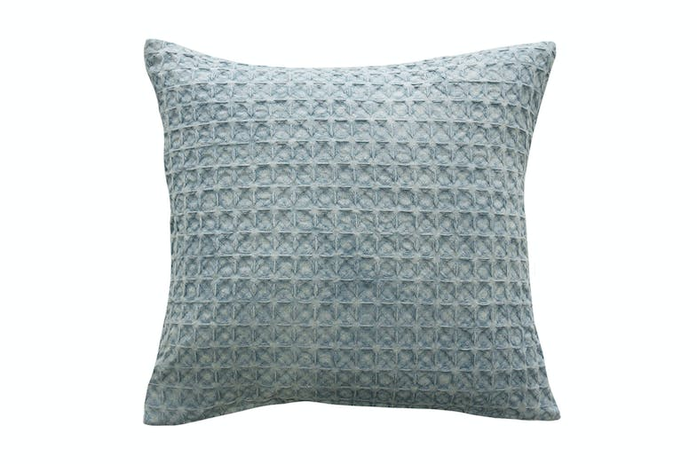 Arthur Square Cushion by Furtex - Duck Egg
