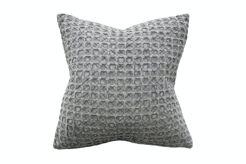 Arthur Square Cushion by Furtex - Light Grey