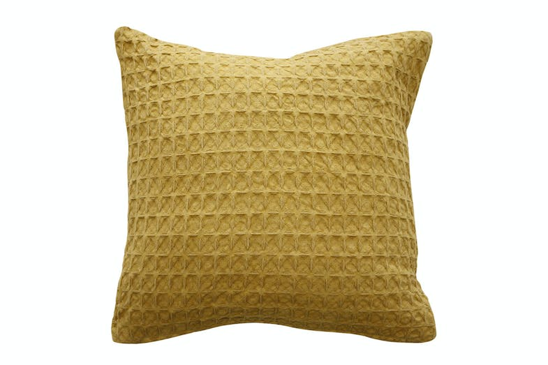 Arthur Square Cushion by Furtex - Ochre