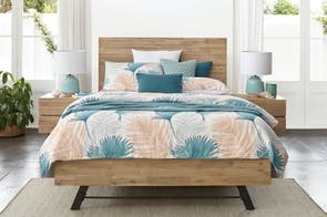 Bari Queen Bed Frame by John Young Furniture