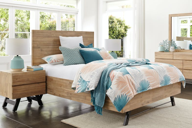 Bari King Bed Frame by John Young Furniture