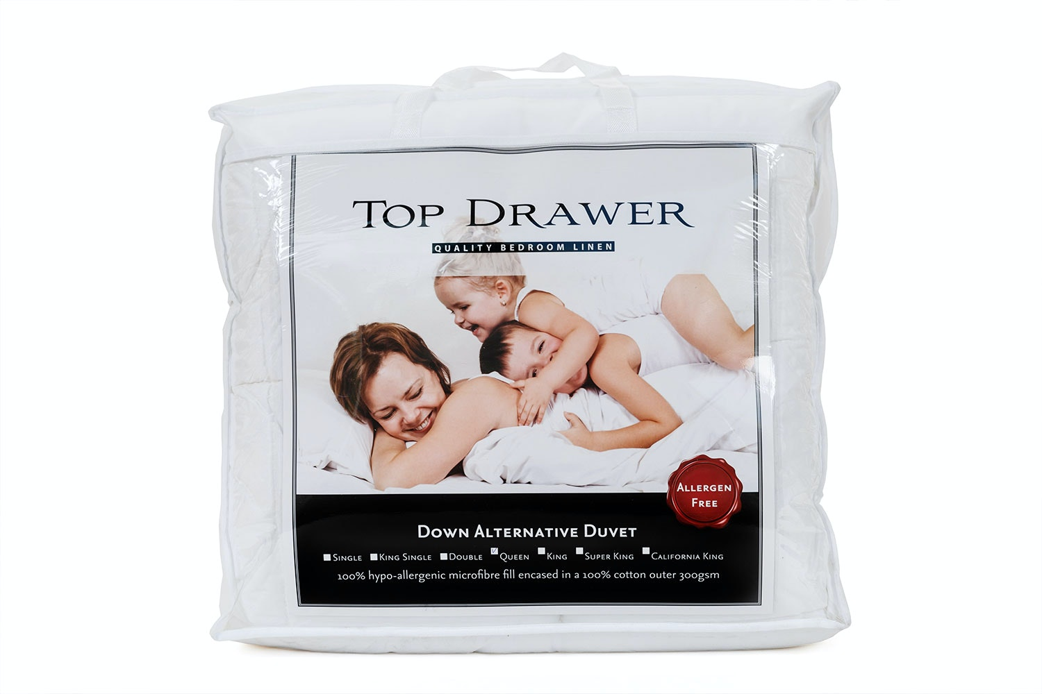 Down Alternative Microfibre Duvet Inner by Top Drawer