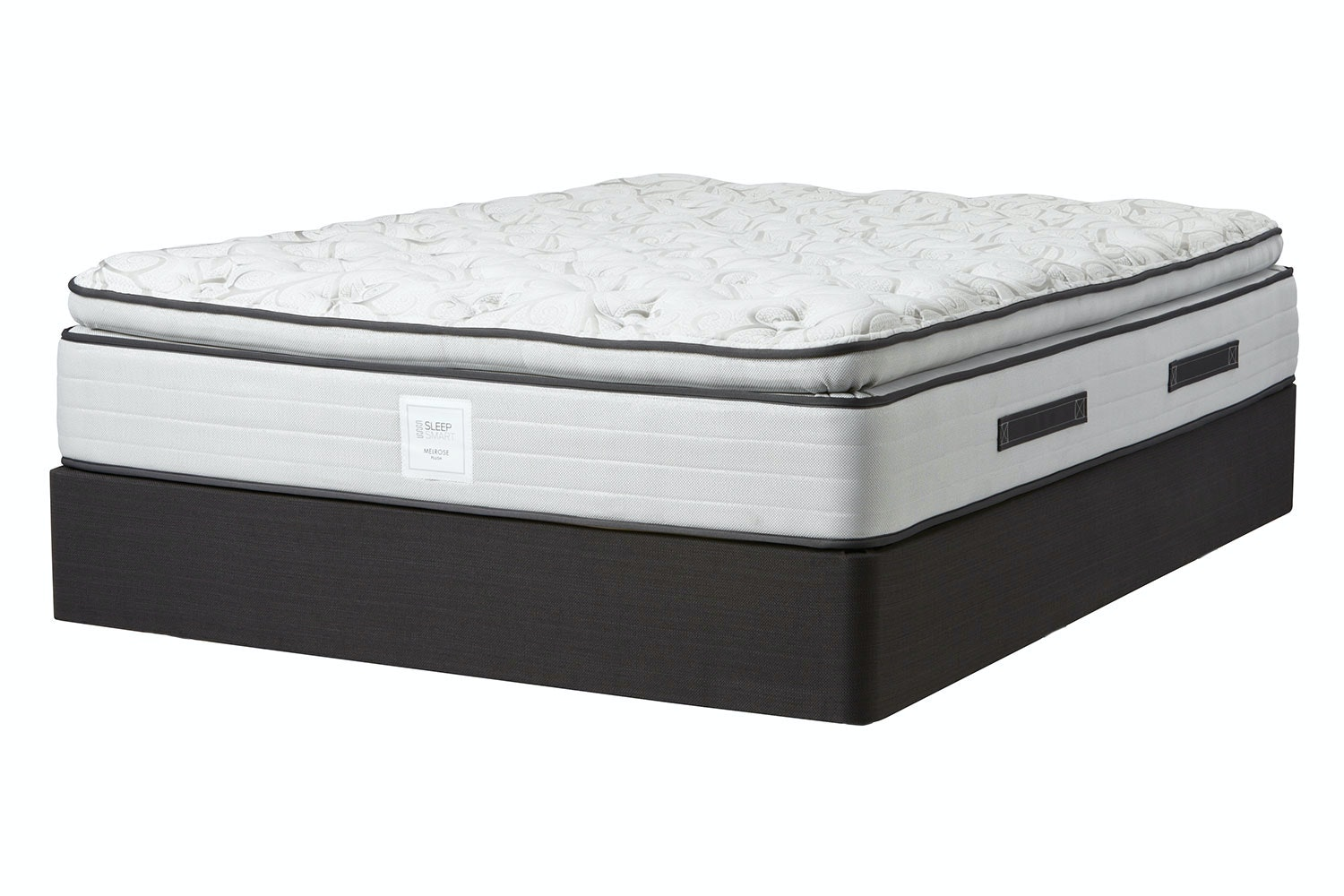 Melrose Plush Queen Bed by Sleep Smart