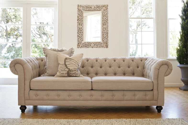 Royalty 3 Seater Sofa by Vivin
