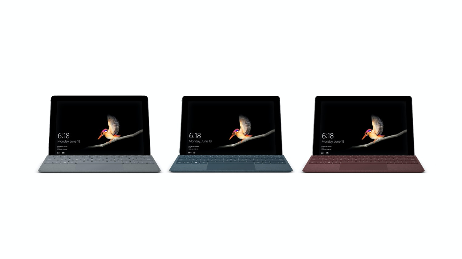 Surface GO 64GB + Signature Type Cover