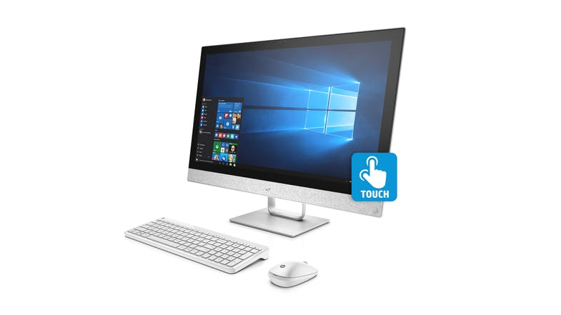 HP Pavilion 24-R104A All-in-One Desktop - Side
