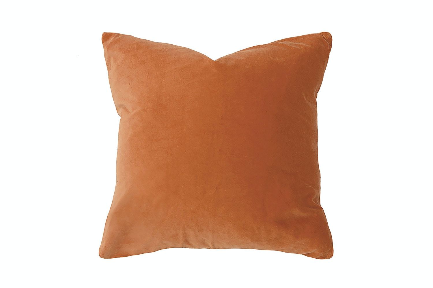 Cayenne Velvet Square Cushion by Bambury
