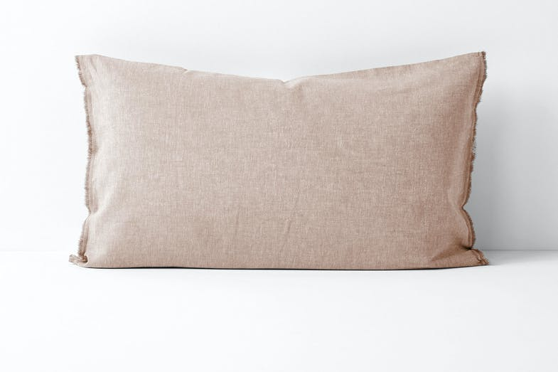 Standard Pillowcase - Pink Clay